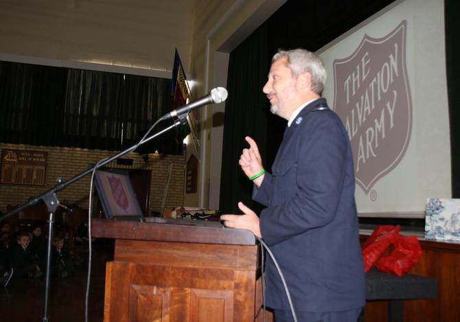Salvation Army Presentation