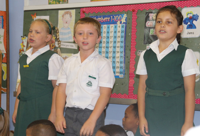 Grade 1 Awards Ceremonies