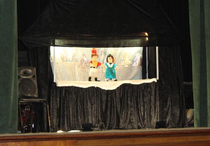 Grade 1 Puppet Show