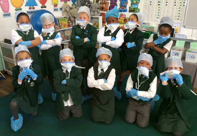 Grade 1's Learn about Hospitals