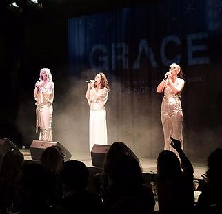 Classy Flashy showpaket showgruppen GRACE underhållning event