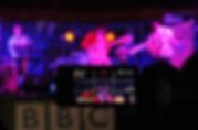Plastic Scene performing at Lakefest 2018