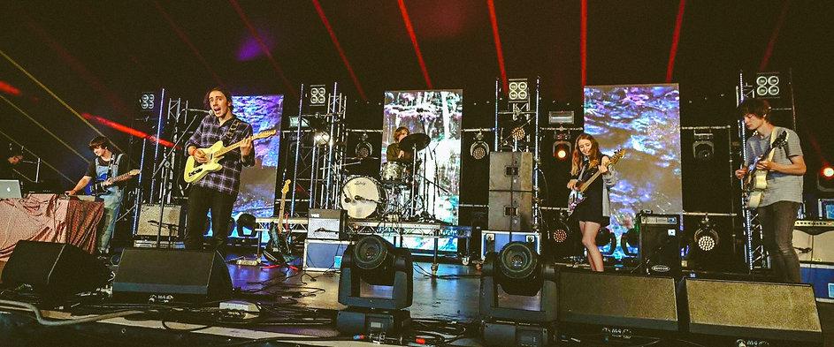 Plastic Scene performing at Lakefest 2016