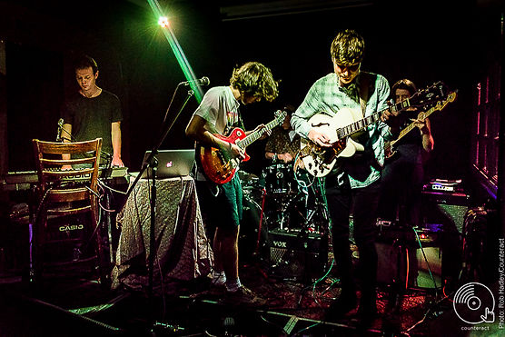 Plastic Scene performing their headline gig at the Victoria in Birmingham