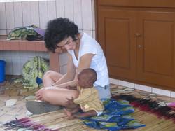 Martina e Amila- centro nutrizionale