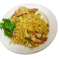 #T Pineapple Fried Rice