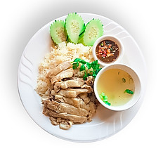 GINGER RICE WITH CHICKEN
