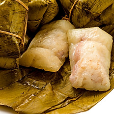 SWEET STICKY RICE WITH BANANA