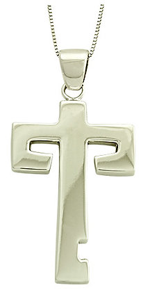 """Maya First"" Cross Necklace - Large"