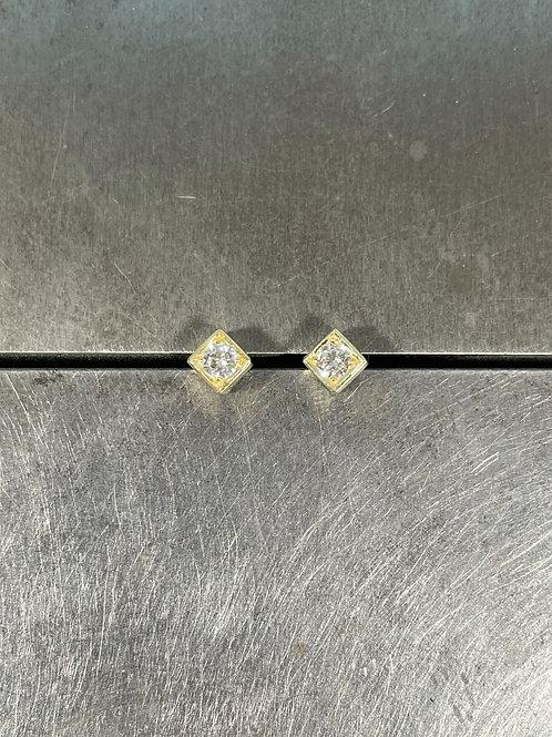 Diamond Stud Earrings
