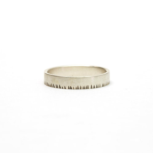 4mm Notched Ring