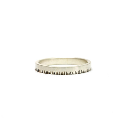 3mm Notched Ring