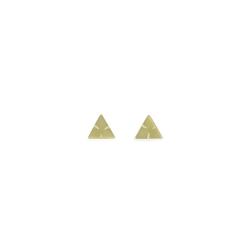 Triangle Stud Earrings