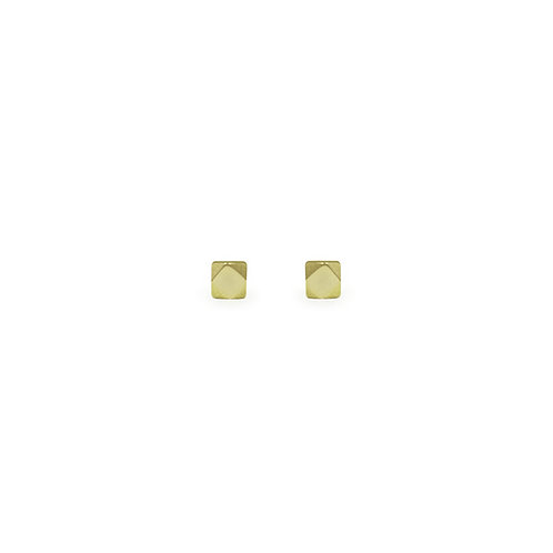 Faceted Stud Earrings