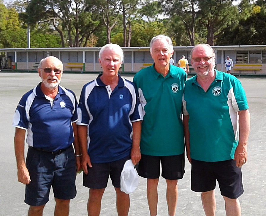 From left to right: Hans Momkes, Jon Peele, Roger Parkin & Steve Nelson