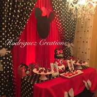 Minnie Red, Black, white & polka dots