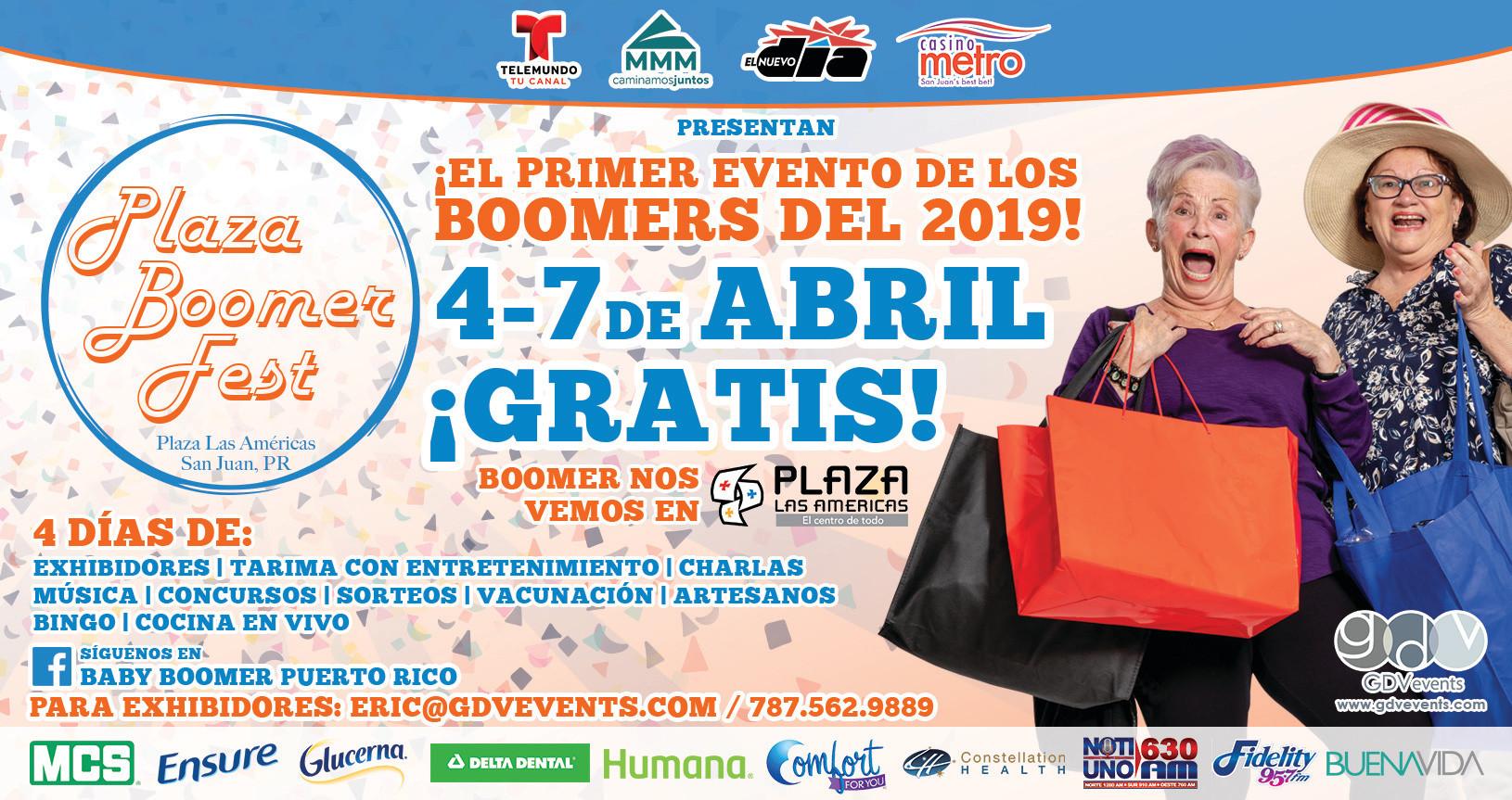 Plaza Boomer Fest | Half Page