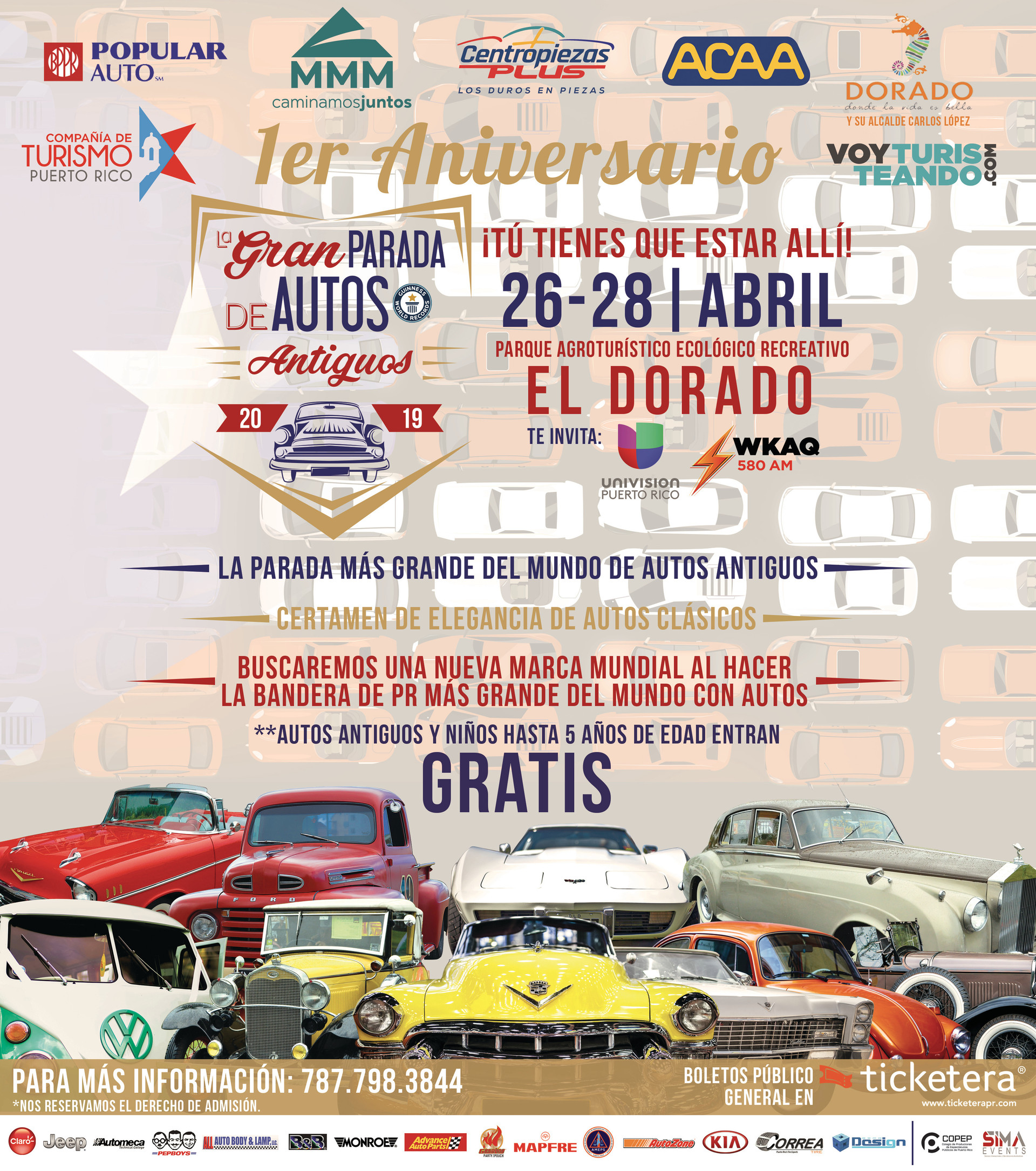 La Gran Parada de Autos Antiguos | Full Page
