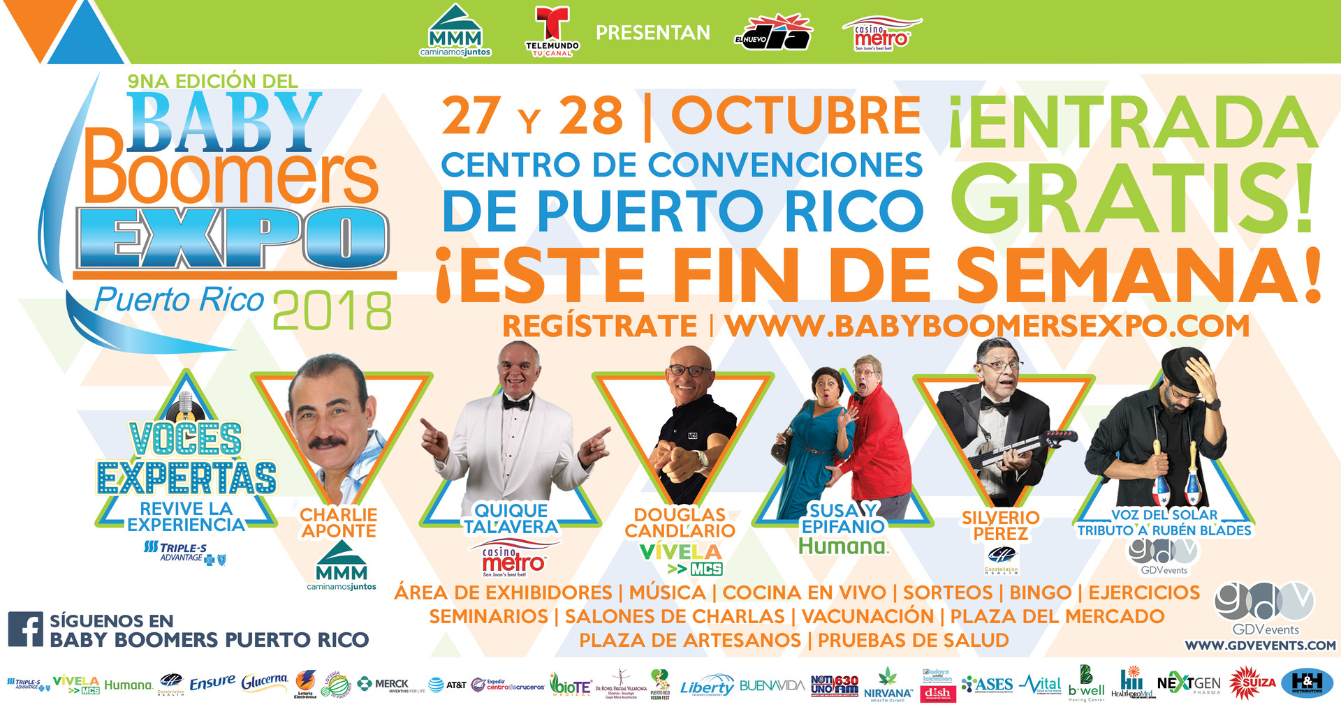 Baby Boomers Expo 2018 | Half Page