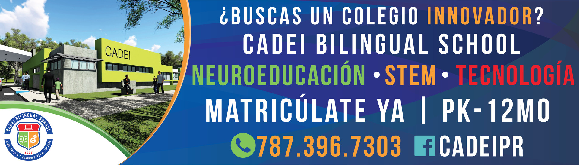 CADEI Bilingual School | Billboard