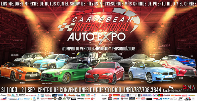 Caribbean International Auto Expo   Double Page