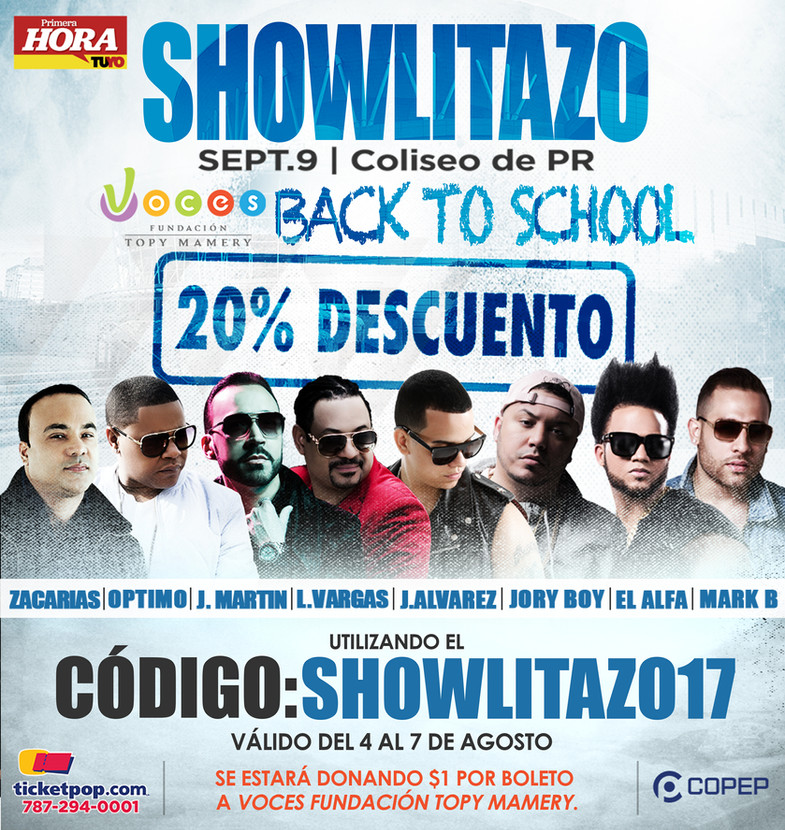 Showlitazo Concert   Full Page