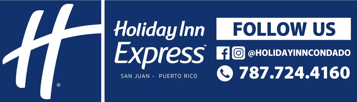 Holiday Inn Express | Billboard | Follow Us