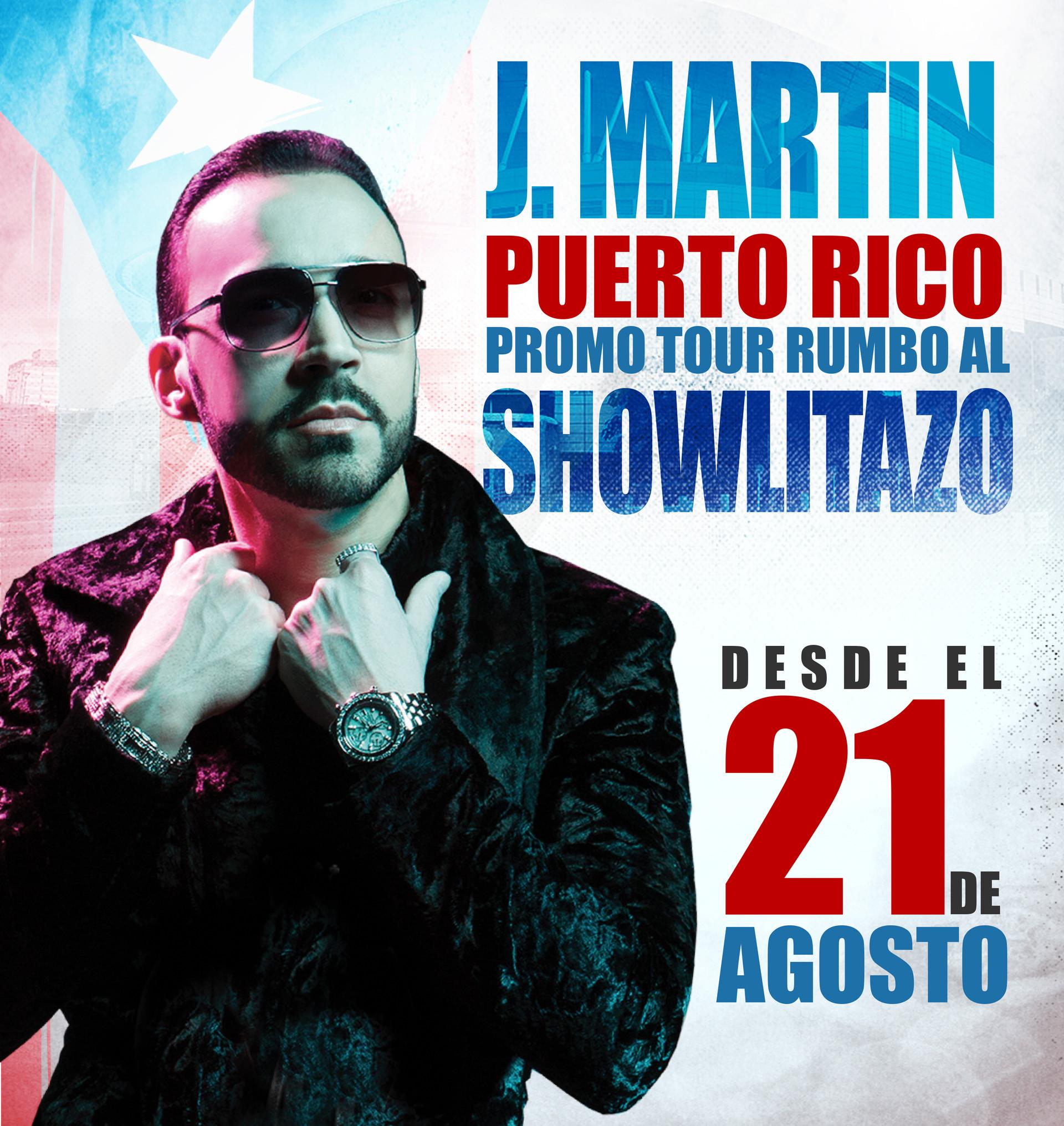 Showlitazo J. Martin Promo Tour | Full Page