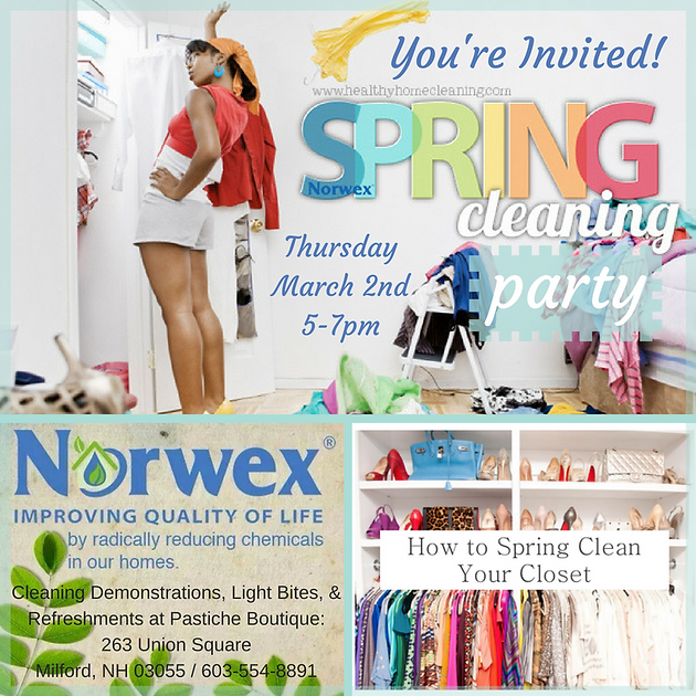 Spring Cleaning Party with Norwex Pastiche Boutique LLC