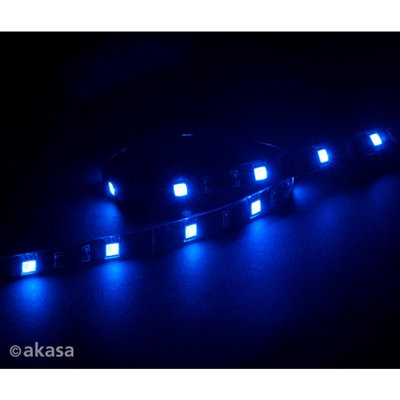 Vegas Blue Magnetic 15 LED Strip Light