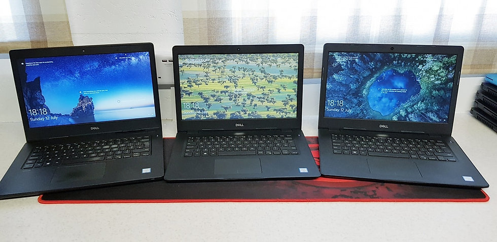 i3 Dell Laptops 6th Gen, 4GB RAM, 120GB SSD