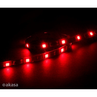 Akasa Vegas Red Magnetic 15 LED Strip Light