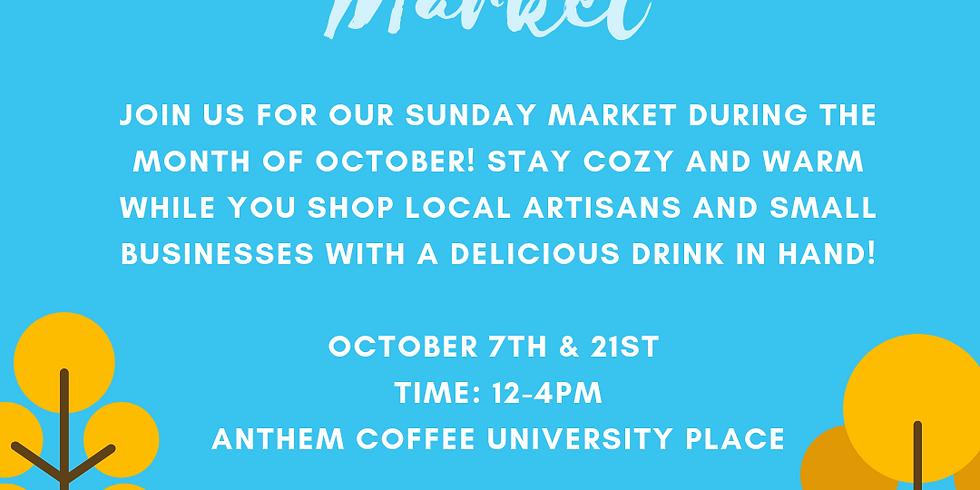 October Sunday Market