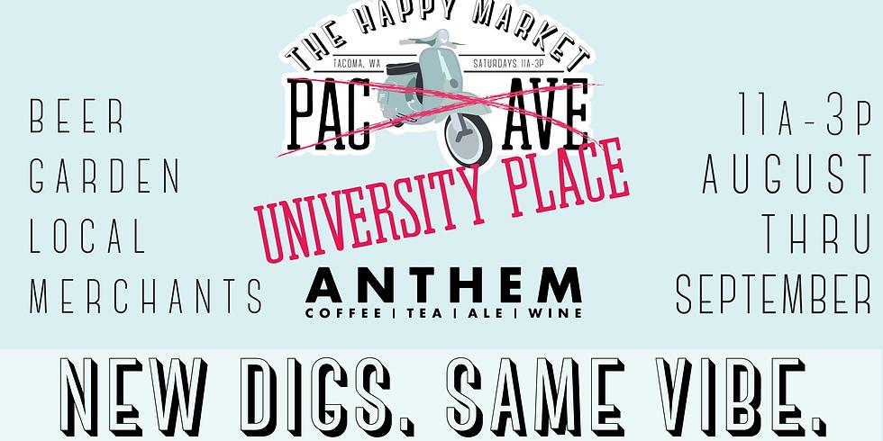 The Traveling Happy Market University Place