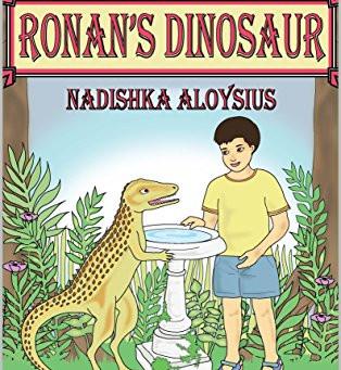 """Review for """"RONAN'S DINOSAUR""""  The author:Nadishka Aloysius"""