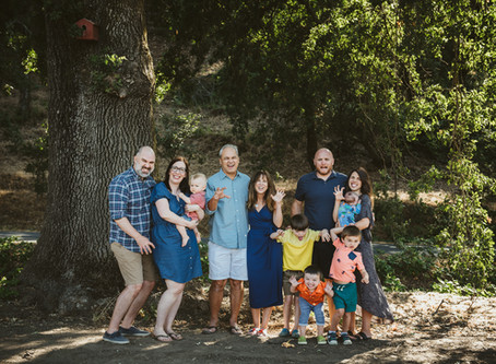 Large Family Photography in Napa, CA