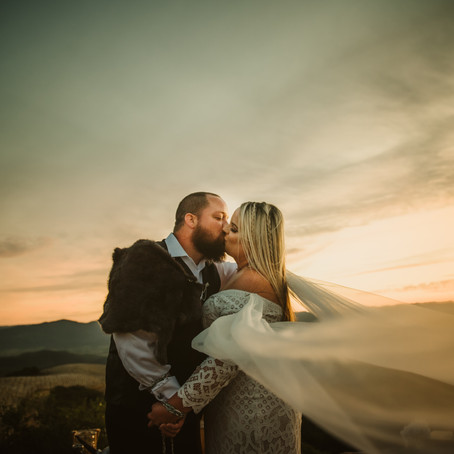 To Valhalla and Beyond | Brooke + Jayson | Napa, California