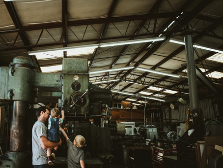 York Machine Works | Father & Sons | St. Helena, CA