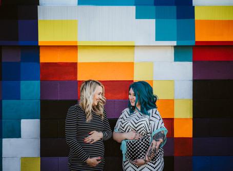 Sisters | Maternity Photography in Napa, California
