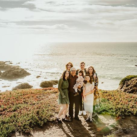 Large Family Photography | Bodega Bay, CA