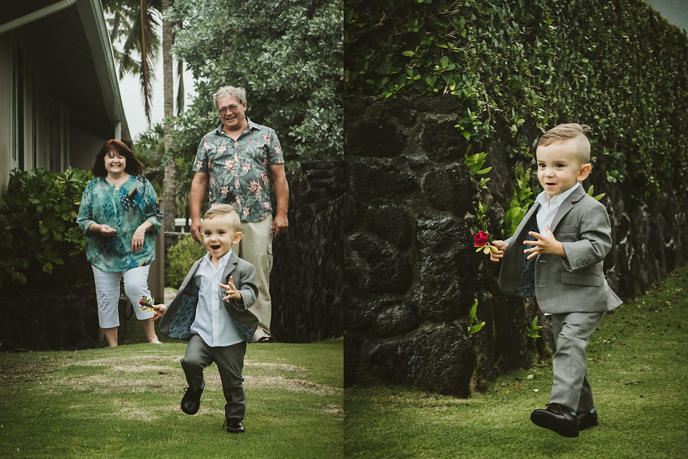 Destination wedding photography in Hawaii