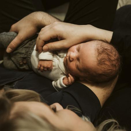 Owen | Lifestyle Newborn Photography | Napa, CA