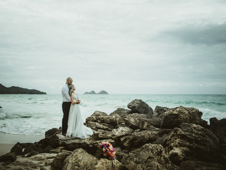 Donnie + Miranda | Destination Elopement Photography in Kailua, Hawai'i