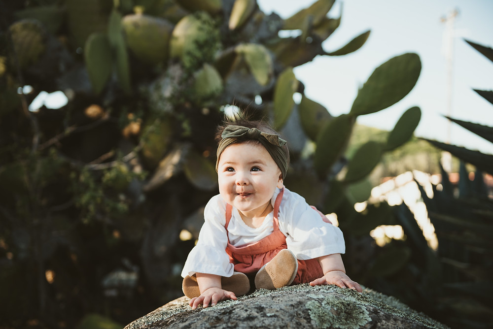 baby girl, family photography