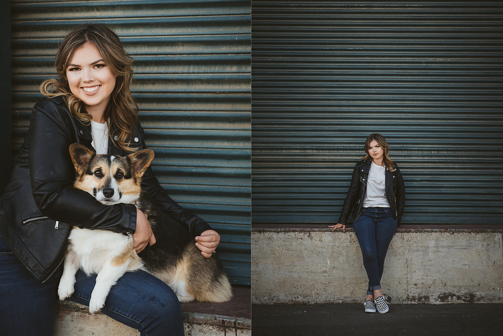 Napa Portrait Photographer | Hemlock House Photography | Corgi