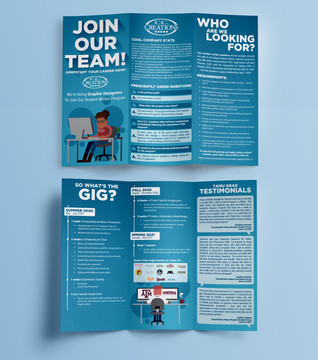 Student Worker Brochure