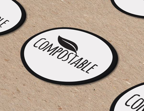 Compostable Sticker