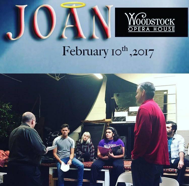 Joan Rehearsal