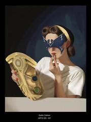 Digital Painting Self Portrait