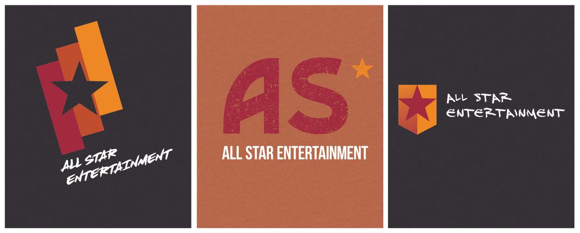 All Star Entertainment Logos